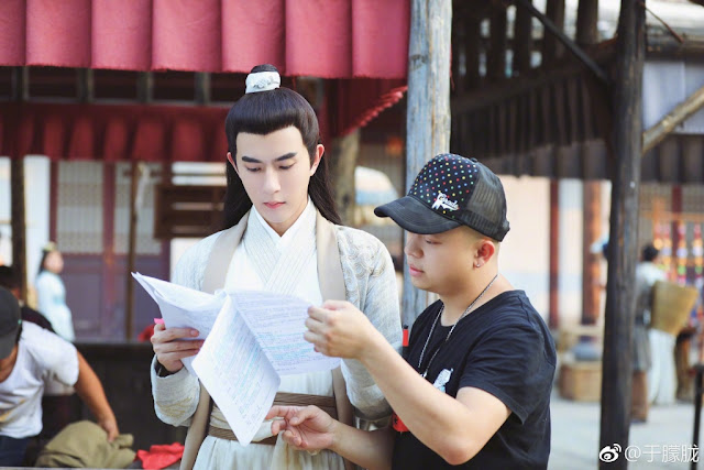 Legend of the White Snake Wrap Filming Alan Yu Menglong