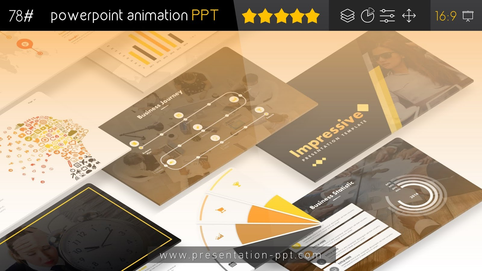 Impressive Professional Powerpoint Templates Animation