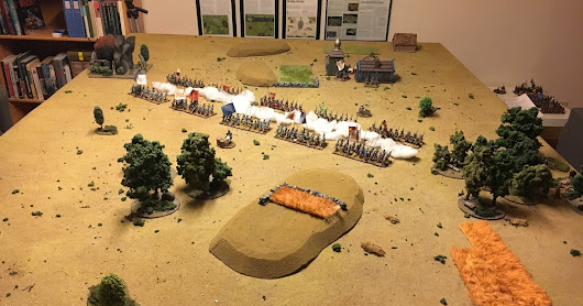 Quick photo report: GNW reinforcements game