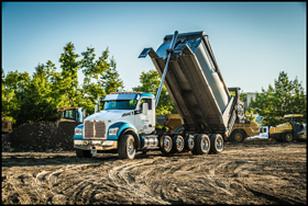 PGH Excavating Kenworth T880S Dump Truck