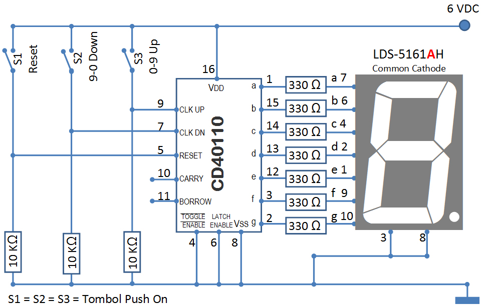 grade 9 circuit diagram problems karyaku: 0-9 up/9-0 down counter dengan cd40110 0 9 counter circuit diagram