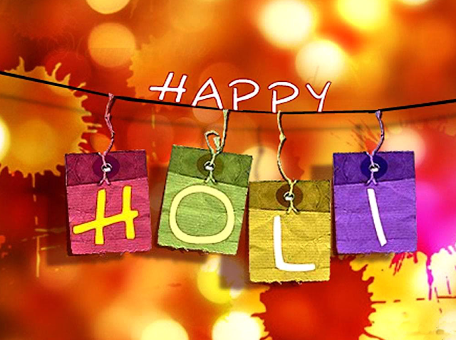 Holi images and greetings