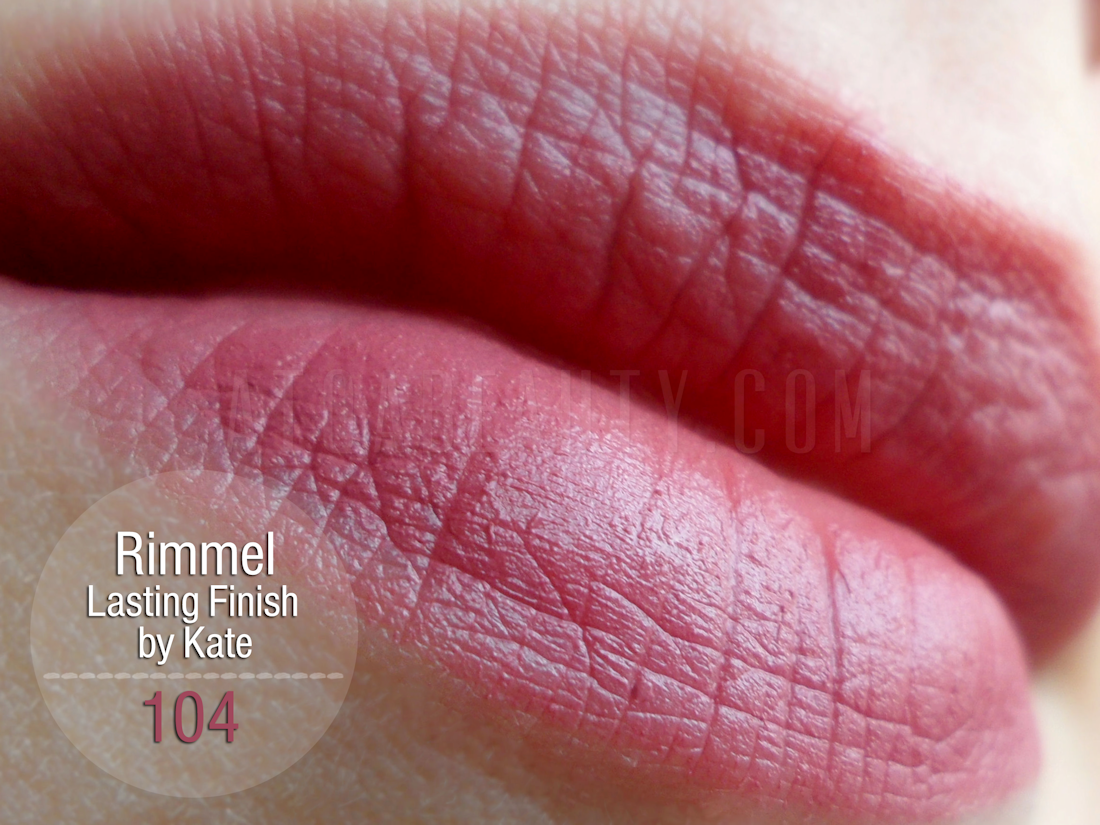 Rimmel Lasting Finish Matte by Kate 104