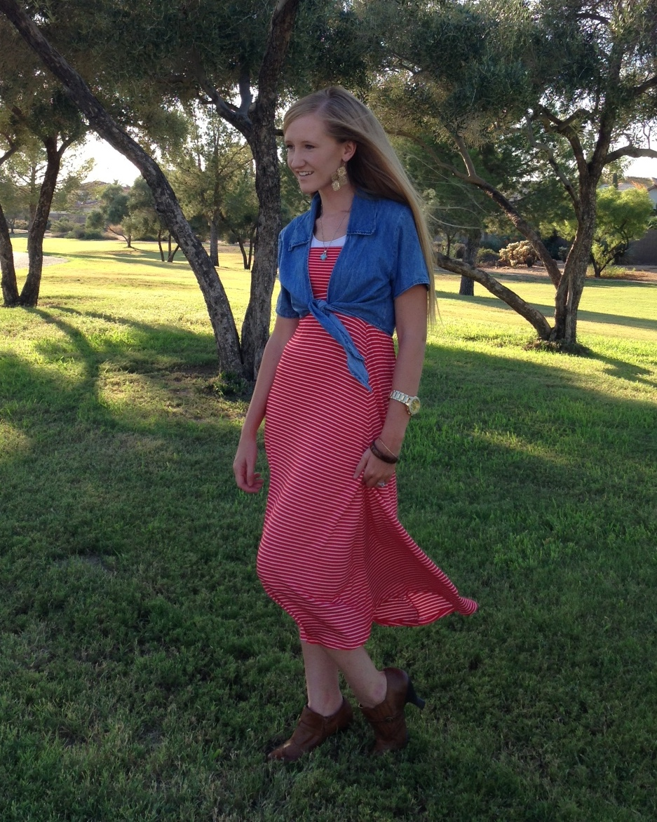 how to dress a pear shaped body {the maxi}