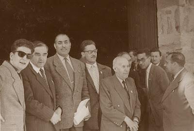 Comité organizador del II Campeonato Mundial Universitario de Ajedrez Lyon 1955