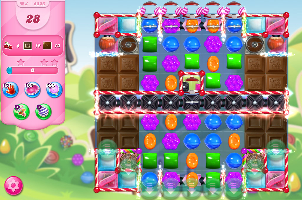 Candy Crush Saga level 6326