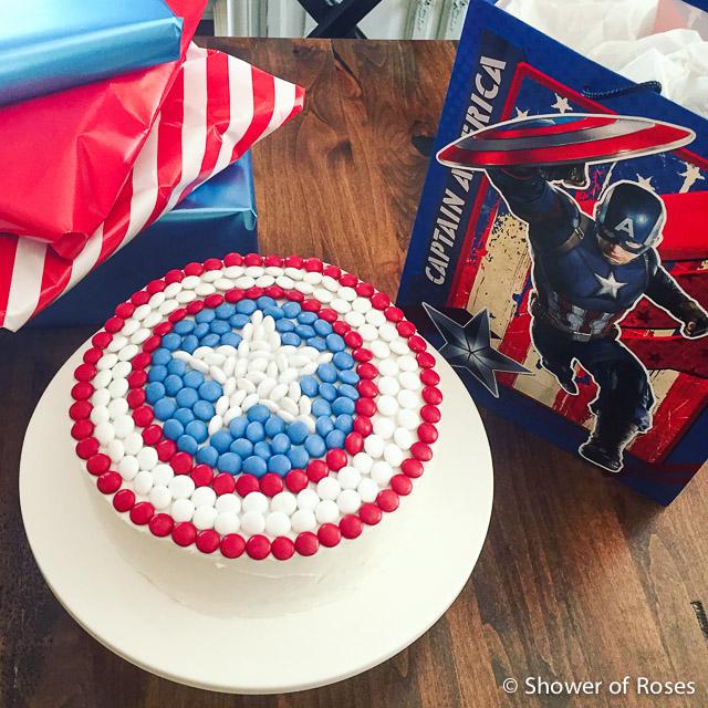 Captain America Birthday Ideas