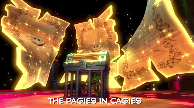 Yooka-Laylee rap Yooka Laylee in cage Pagies cagies