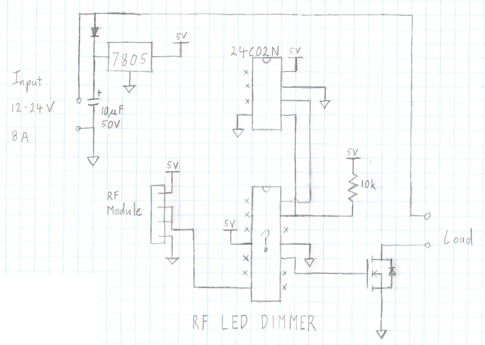 Led Dimmer Circuit