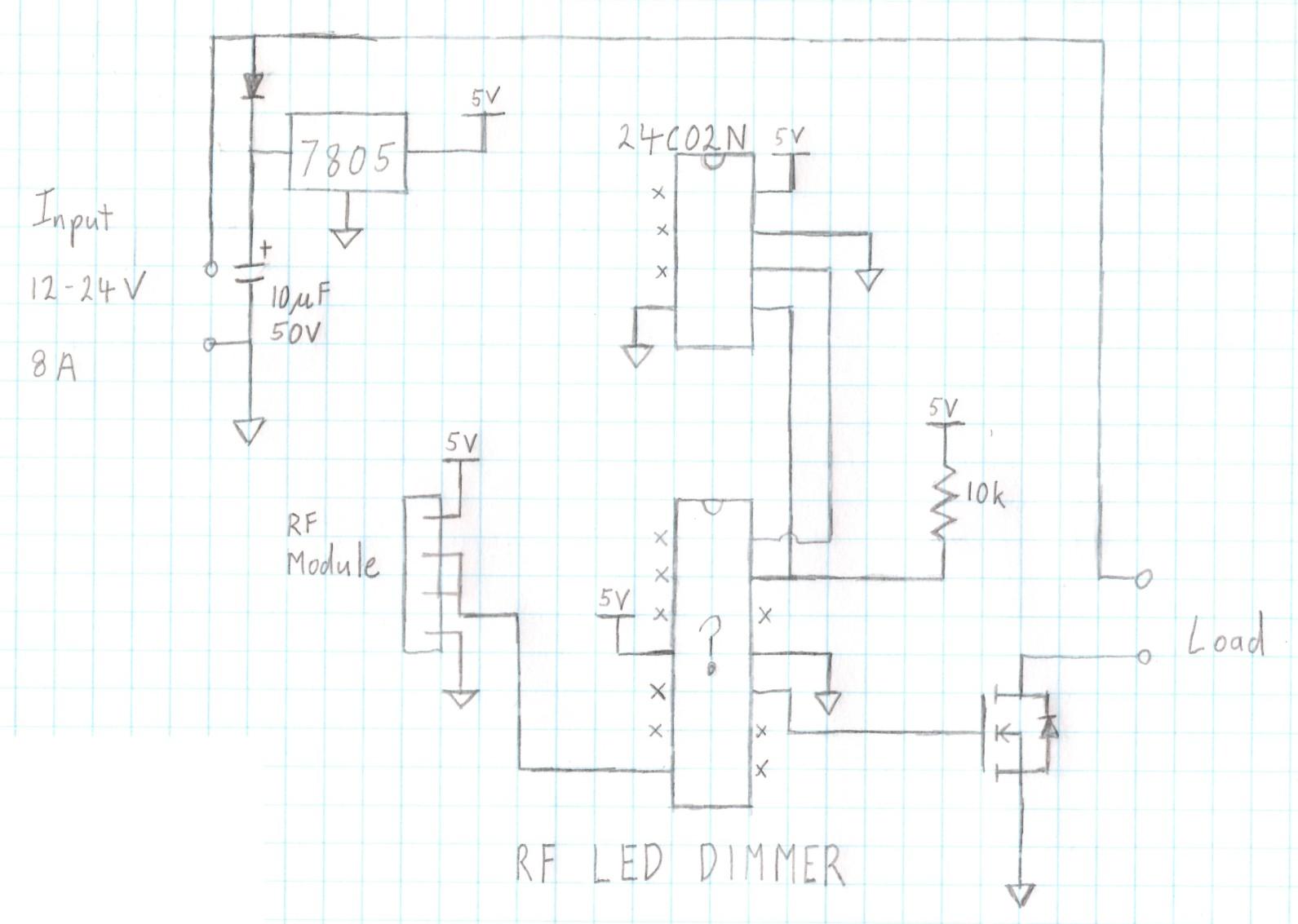 Grant Trebbin Rf Led Dimmer Teardown Module Circuit Diagram Schematic