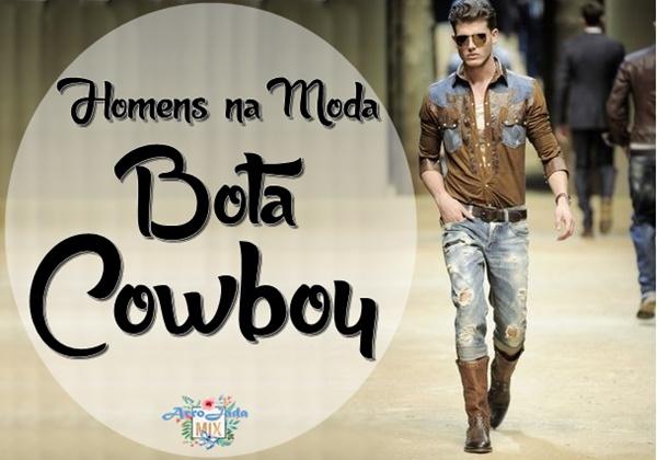 Homens da Moda - Bota Cowboy Masculina