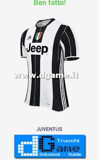 Soluzioni Indovina maglia calcio Italia livello 3