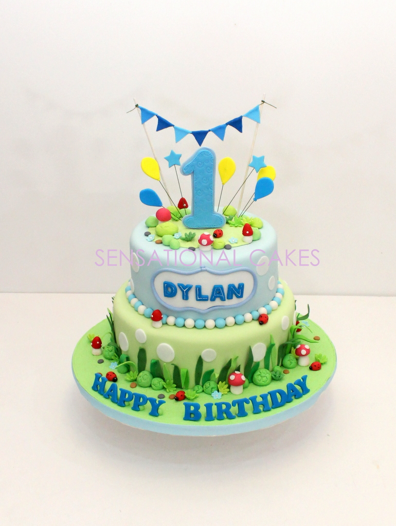 Phenomenal The Sensational Cakes Baby 1St Year Birthday Cake For Boy 3D Cake Birthday Cards Printable Inklcafe Filternl