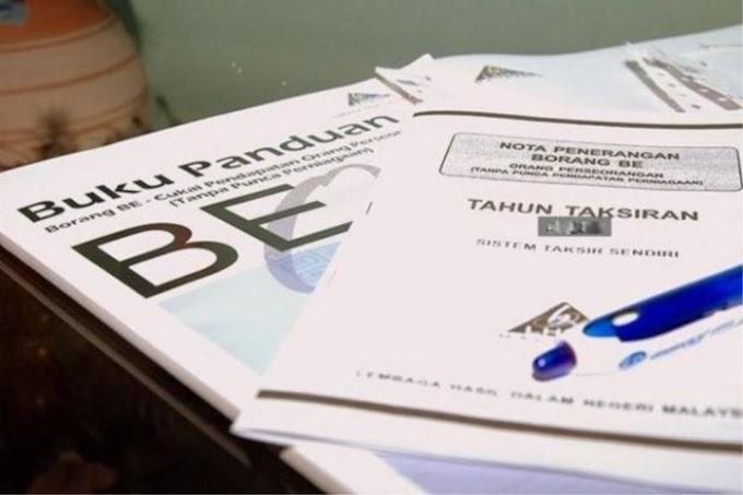 Senarai Pelepasan Cukai 2018 Untuk E-Filing 2019 LHDN