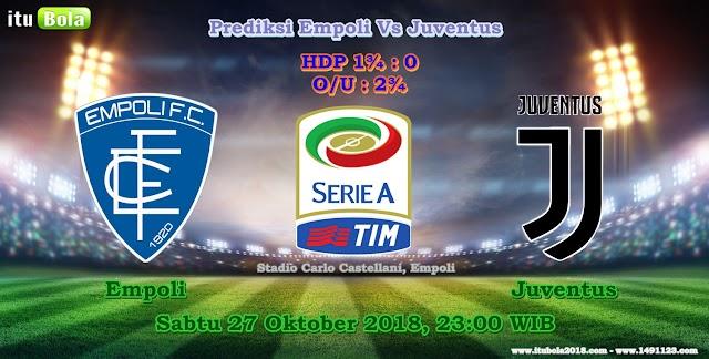 Prediksi Empoli Vs Juventus - ituBola