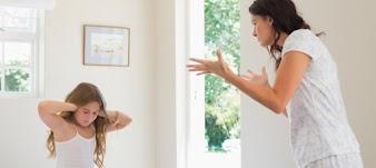Ninguém pode criar bons filhos gritando