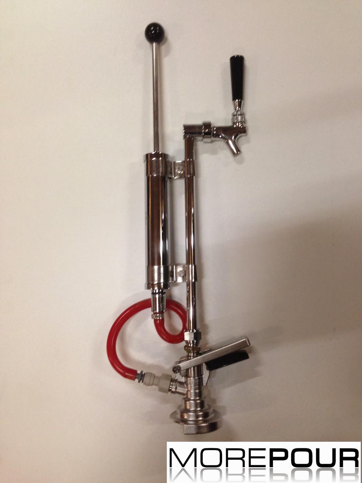 Keg party pump dispenser
