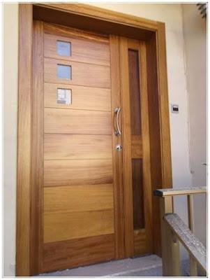 desain daun pintu utama