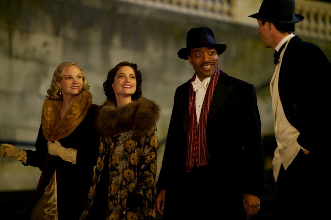 The Costume Rail: Dancing on the Edge - TV Costumes for the