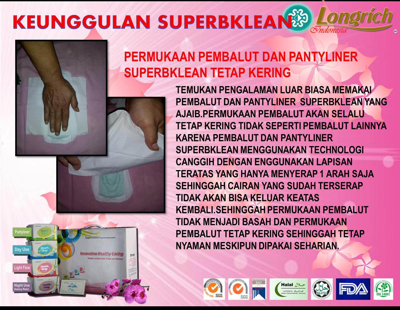 Pembalut Superbklean Longrich Firmax 3 Superbclean Magnetic Kini Hadir Indonesia Yang Akan Memberikan Kesehatan Kenyamanan Dan Juga Hemat Biaya Anion