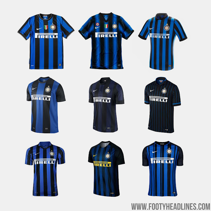 34a10801a Inter's entire Nike 20 Years collection including the Mashup jersey will  drop on March 9. The Vaporknit 'Match' version of the shirt will be limited  to just ...