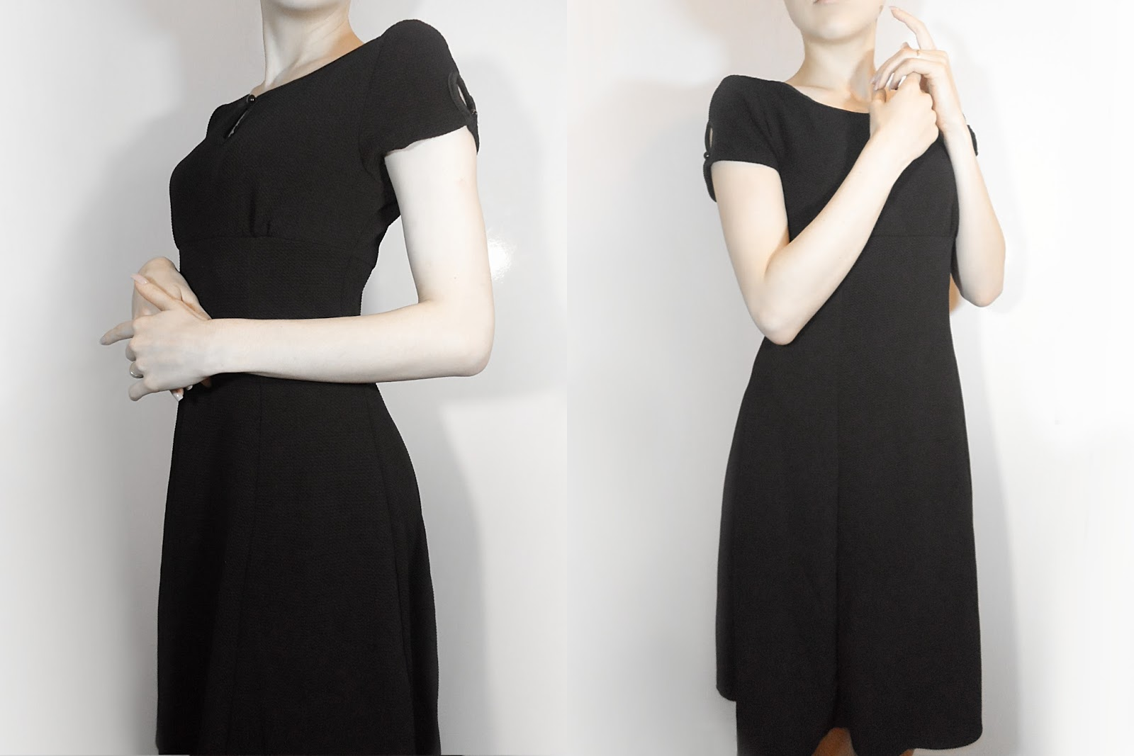 little black dress classic vintage retro ootd fashion liz breygel