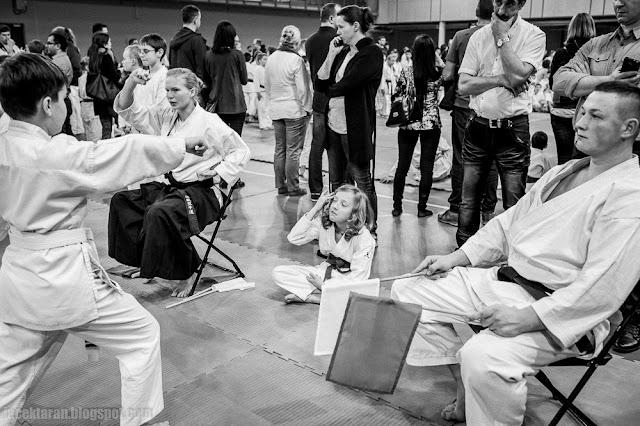 Turniej Mikołajkowy, karate tradycyjne, jacek taran, tauron arena, zdjecia