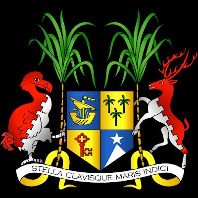 Coat of arms - Flags - Emblem - Logo Gambar Lambang, Simbol, Bendera Negara Mauritius