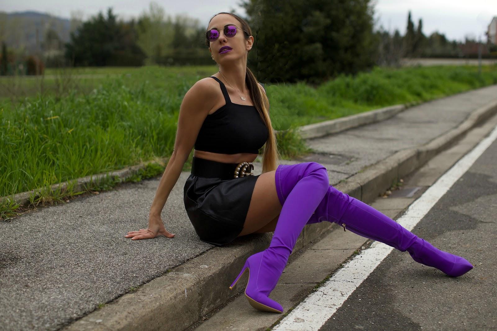stivali ultra violet