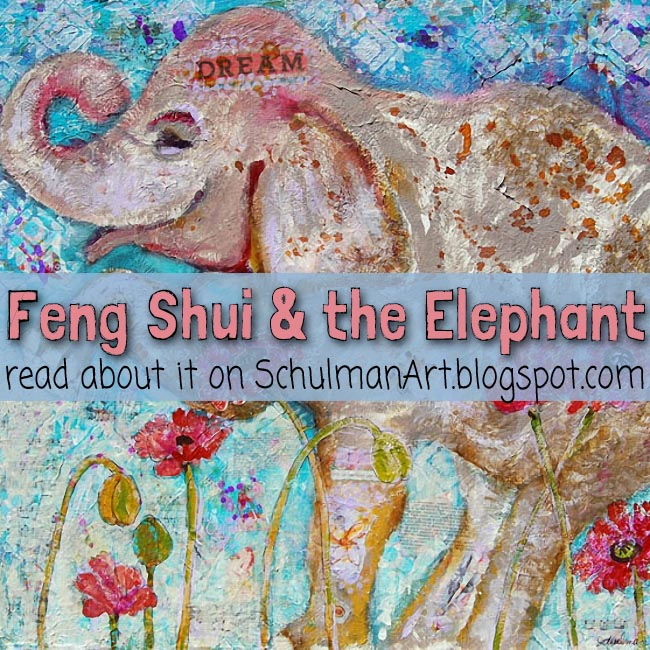 art blog for the inspiration place the feng shui of elephant painting. Black Bedroom Furniture Sets. Home Design Ideas