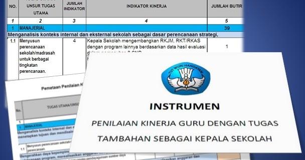 Download Aplikasi Instrumen Supervisi Kepala Sekolah