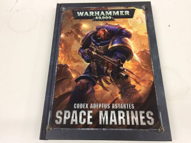 Huge Space Marine Codex Leak