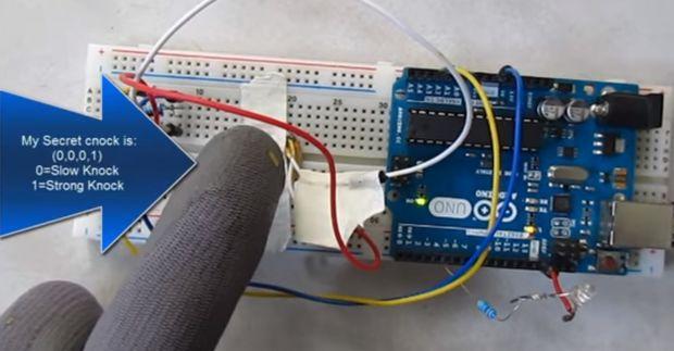 Blue matter arduino tutorial easy secret knock detector