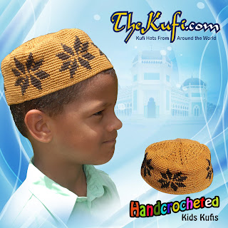 4d10e6cf50d Exclusive line of quality hand-crocheted and machine knit Muslim kufi hats  (skull caps) and caps for children and teens. Click on the kufi hats to see  ...