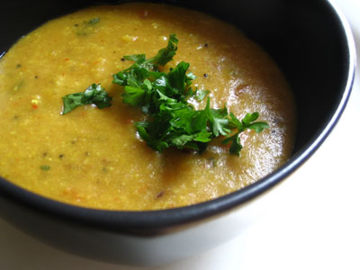 Indian-Style Split Pea Soup
