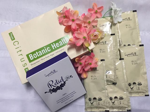 produk lynnity, lynnity relief, botanic health, produk kesihatan, essential oil, organik