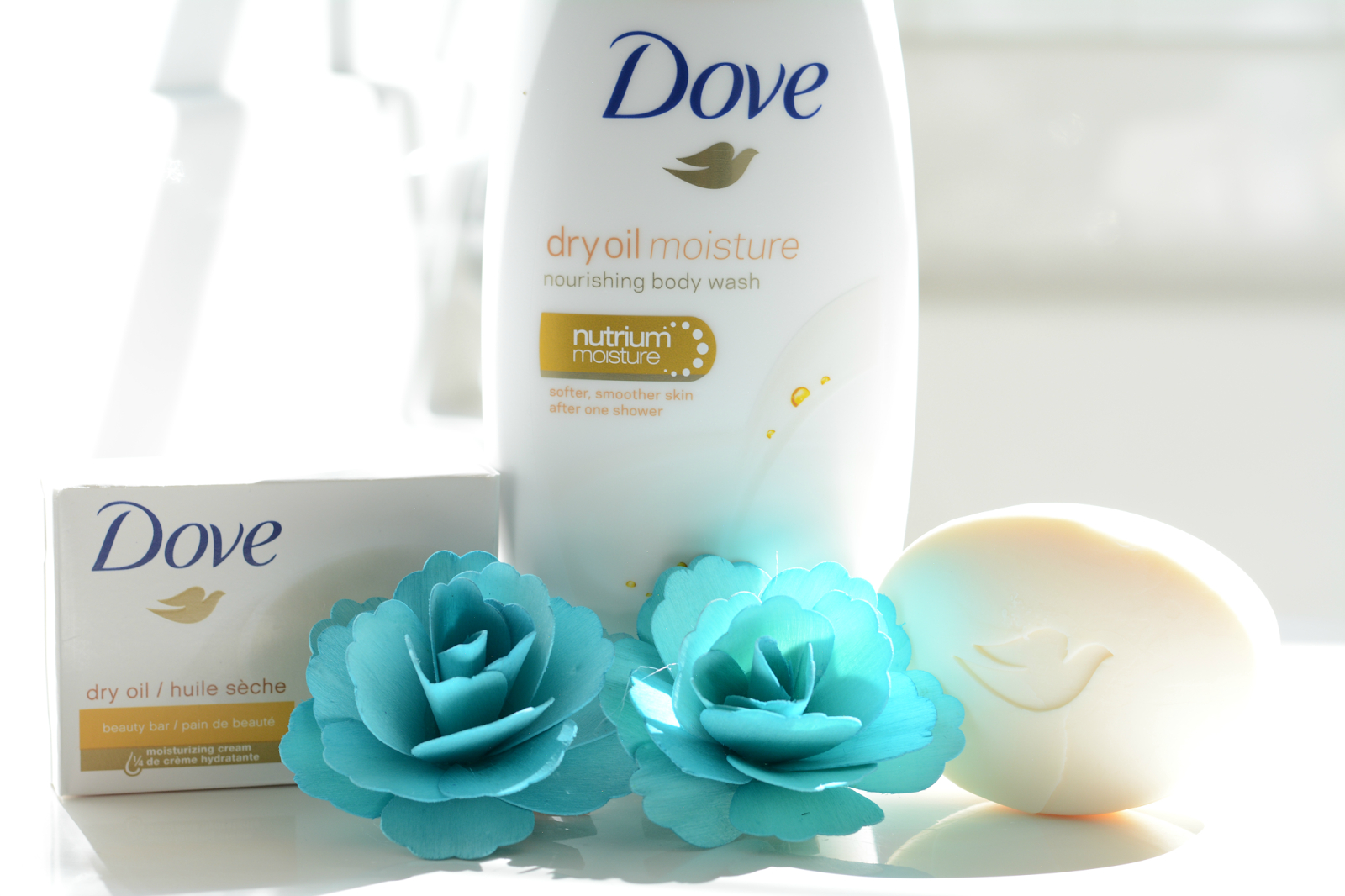 new dove dry oil collection