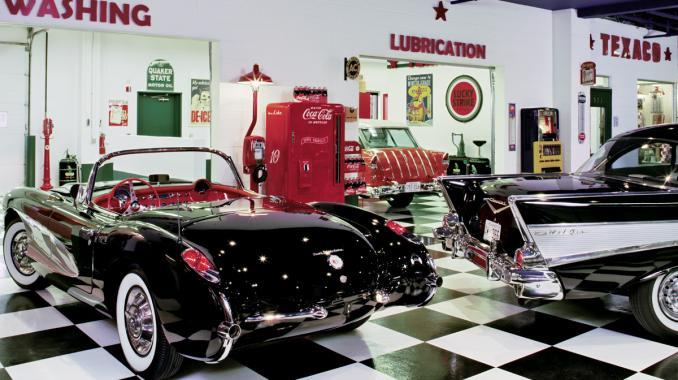 C1 Vette 50 S Garages