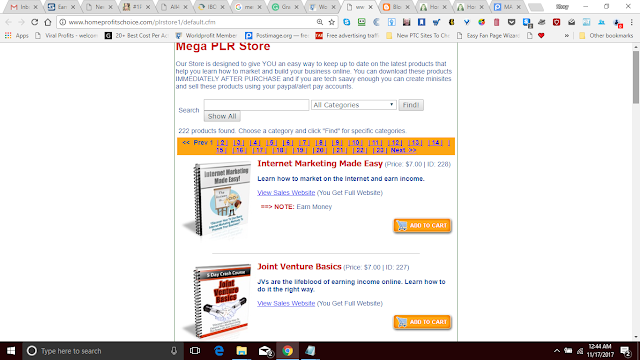 You Can Own Your Own PLR Store And Sell These Books - YOU Get All The Books FREE