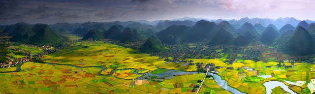 Bac son valley, Vietnam