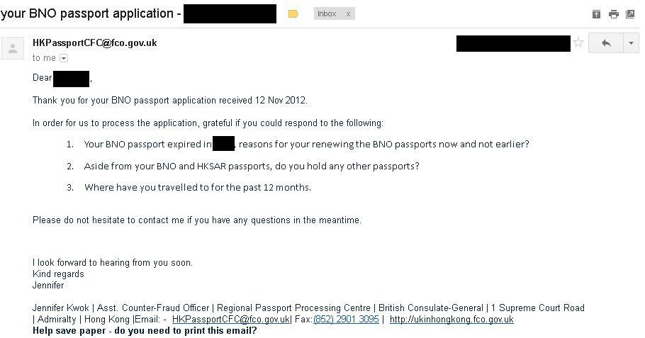 郵寄申請BNO   奶網