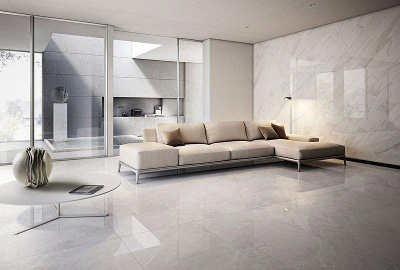 pavimento gres porcellanato effetto marmo di Iperceramica