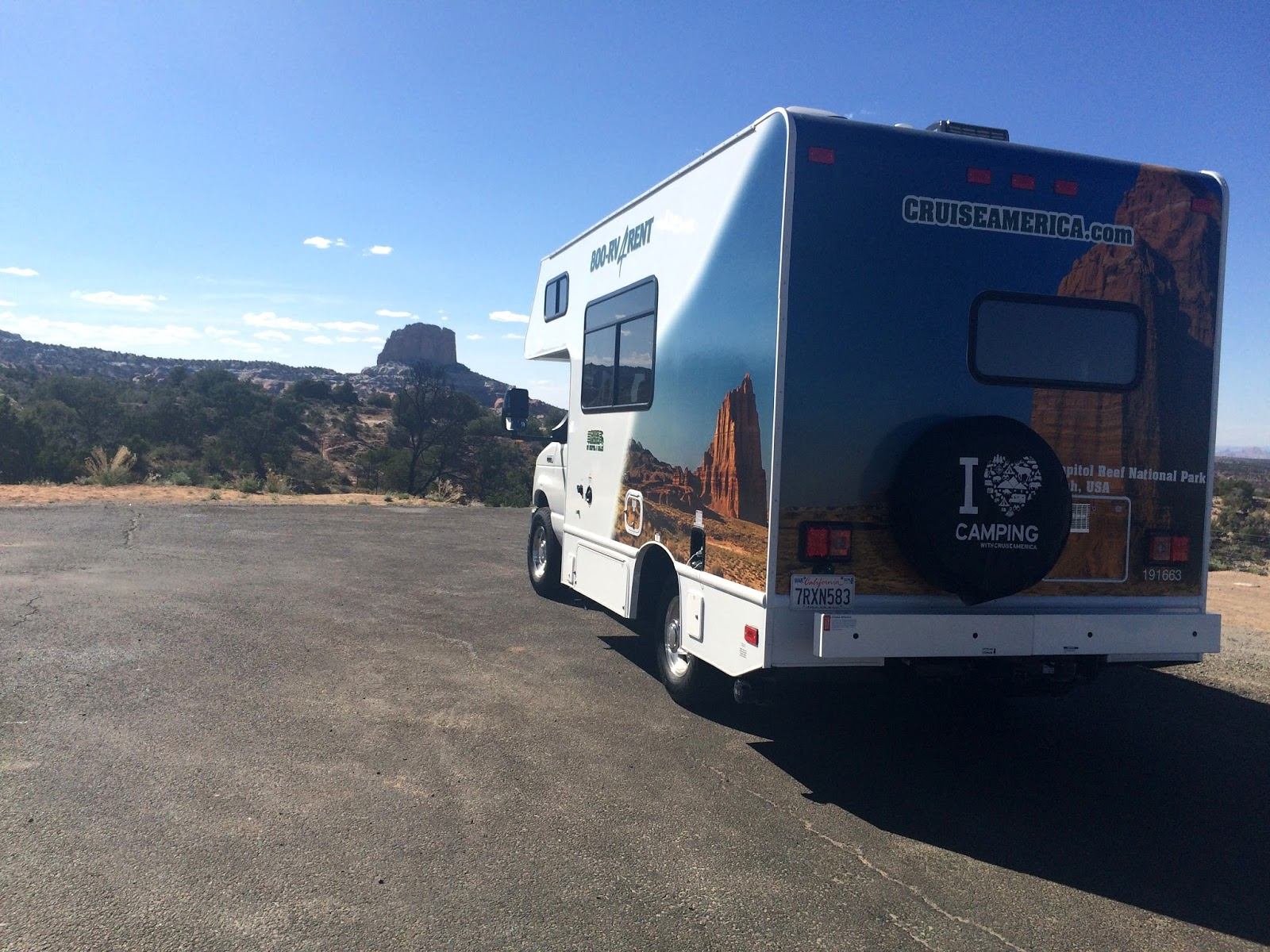 RVing on the US west coast