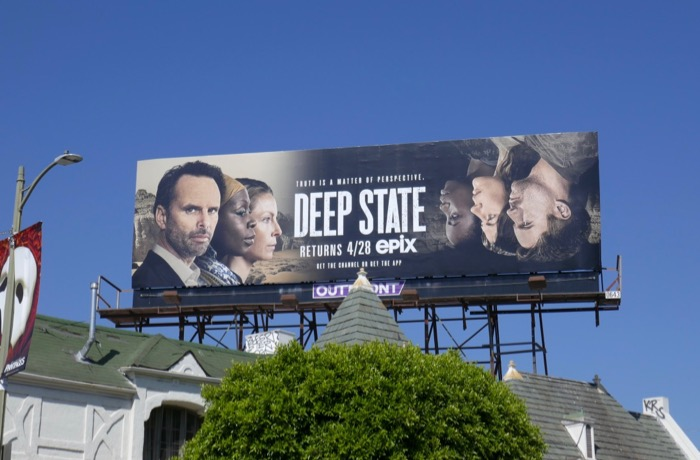 Deep State season 2 billboard
