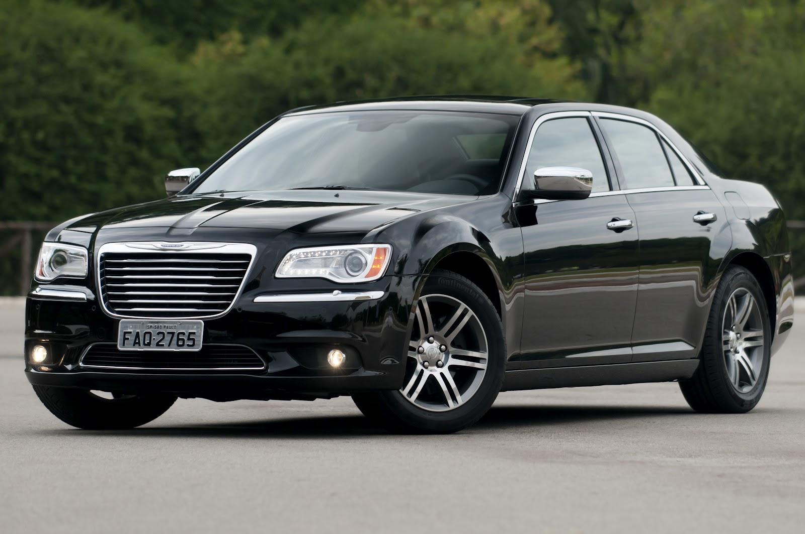 Racionauto Chrysler 300c Menos Sisudo Igualmente Parrudo