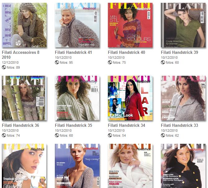 47 Revistas para Tejer de Picasa