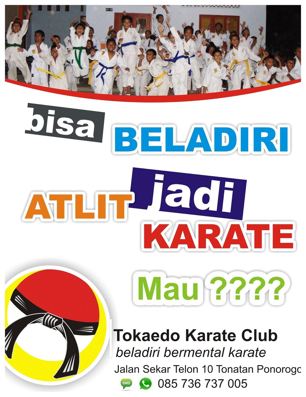 Tonatan Karate Dojo Pendaftaran Anggota Baru Tokaedo Karate Club