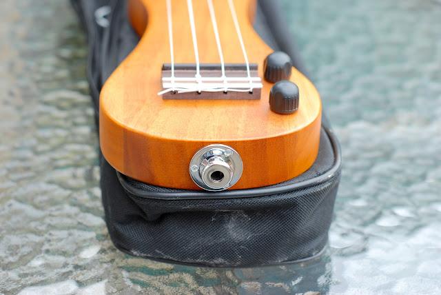 eleuke peanut ukulele jack socket