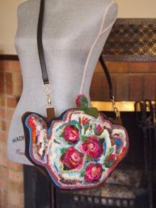 Rose Garden Teapot Purse