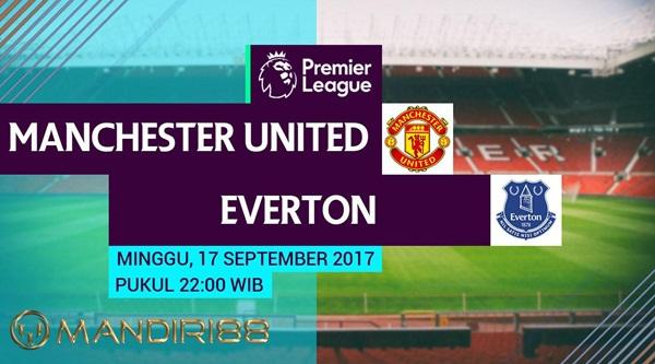 Manchester United akan menghadapi Everton dalam lanjutan Premier League di Stadion Old Tr Berita Terhangat Prediksi Bola : Manchester United Vs Everton , Minggu 17 September 2017 Pukul 22.00 WIB @ RCTI